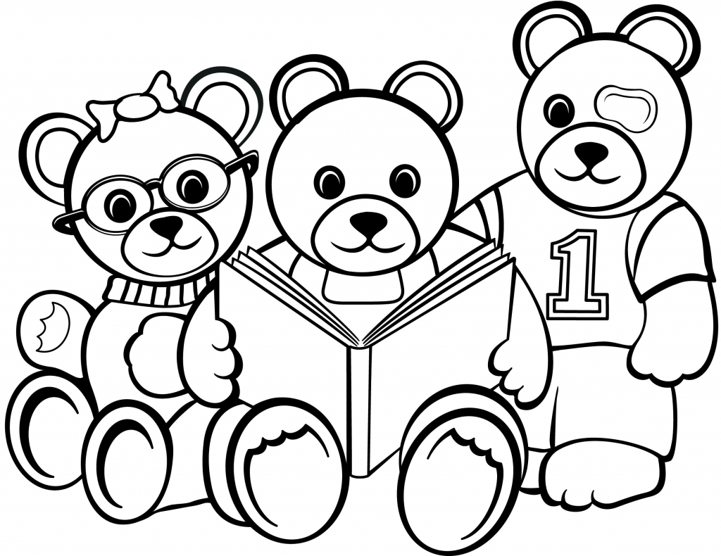 bears in black and white